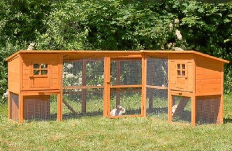 venta de jaulas de conejos para el exterior