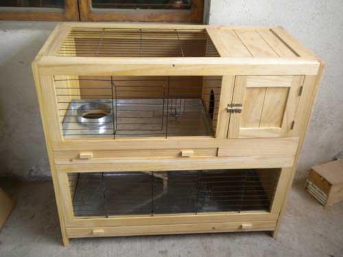 Como hacer una jaula para conejos en septiembre de 2018 - Casas para conejos enanos ...
